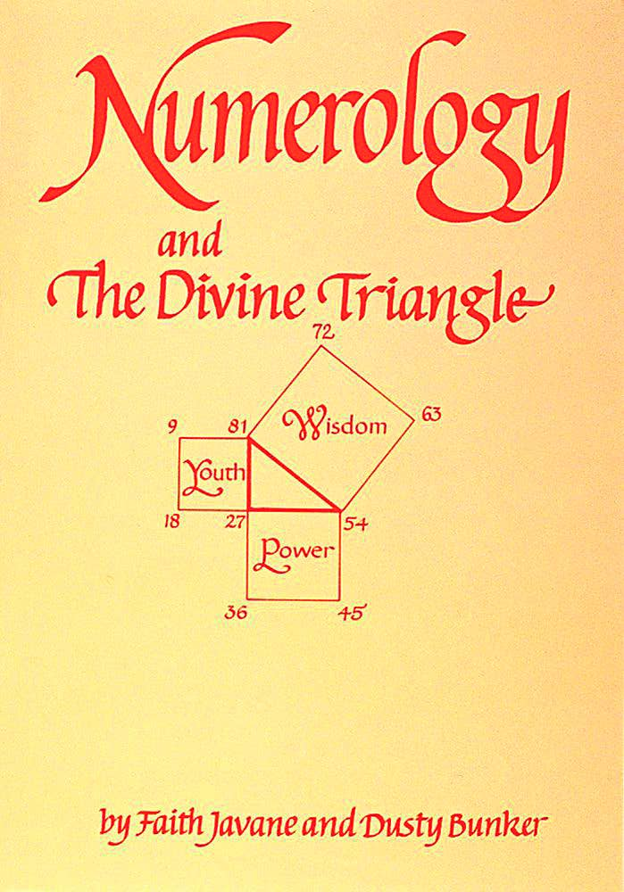 Numerology and the Divine Triangle Book