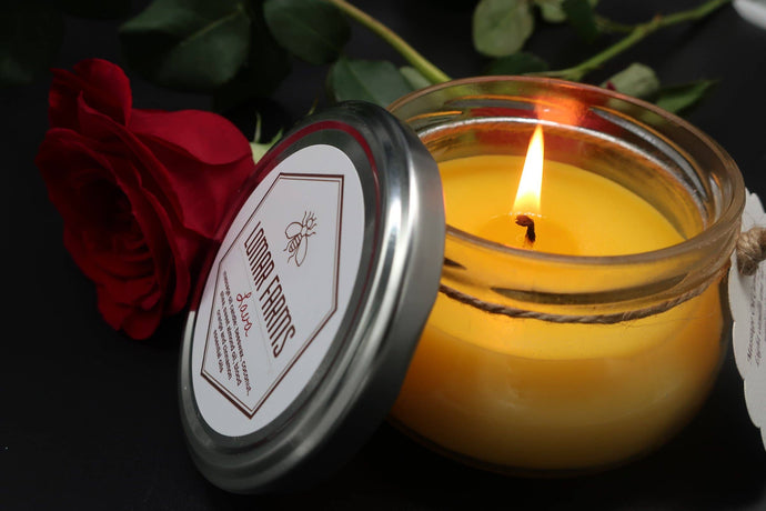 Lomar Farms Candle & Home - Lava Massage Oil Candle