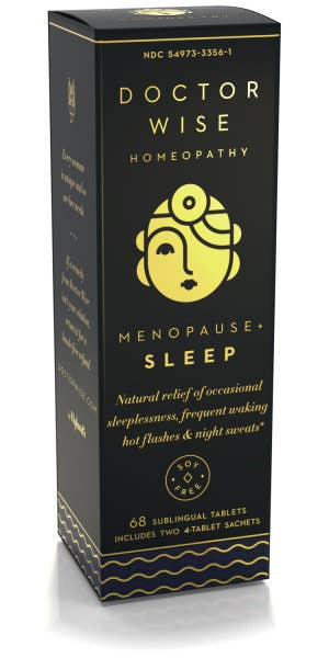 Doctor Wise Homeopathy Menopause + Sleep Tablets
