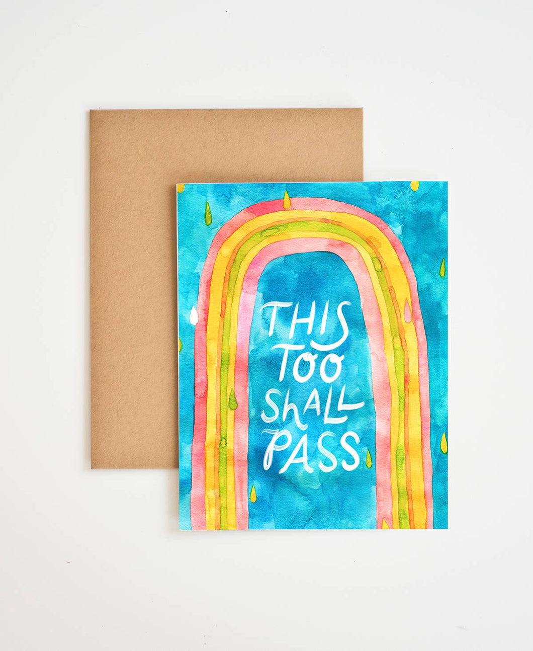 Meera Lee Patel - This Too Shall Pass Card