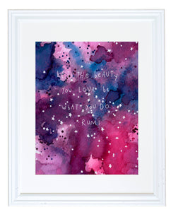 Meera Lee Patel - The Beauty You Love Print