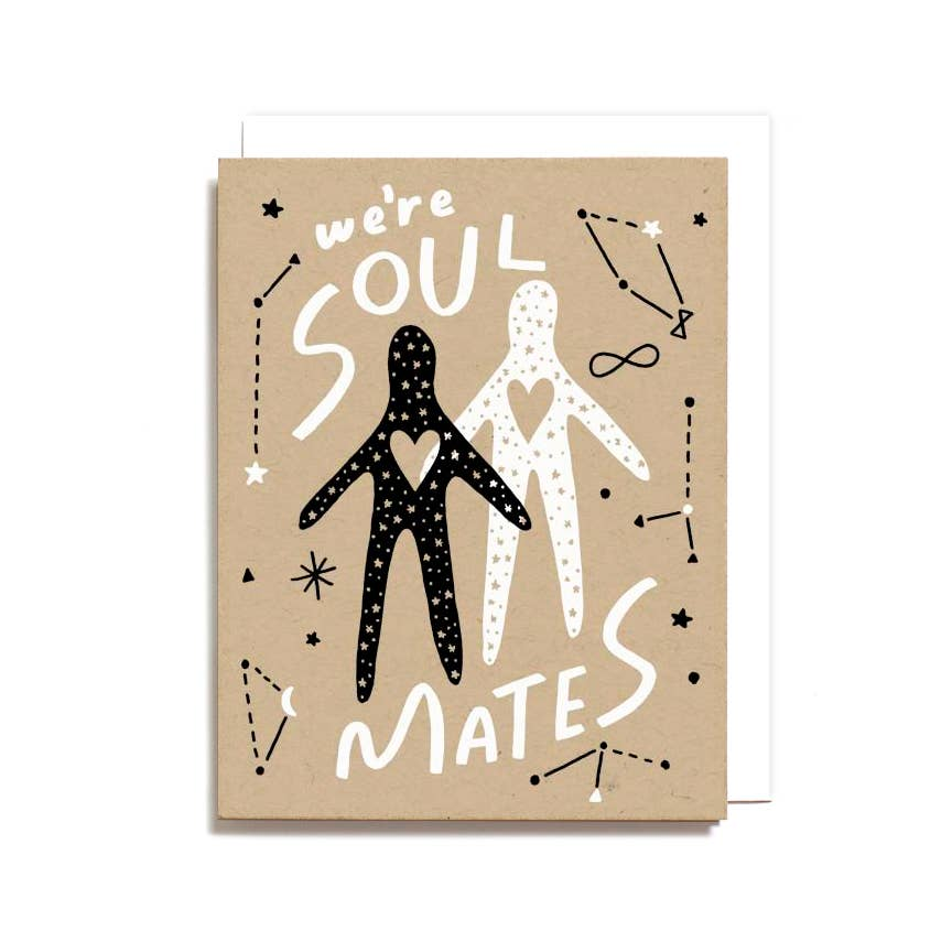 Worthwhile Paper - Soul Mates Card