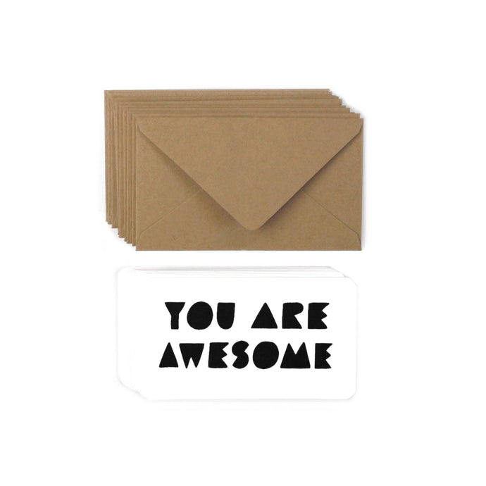 Worthwhile Paper - You Are Awesome Mini Note Set