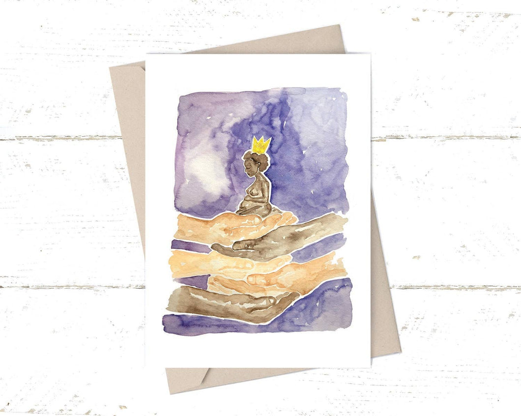Kimothy Joy - Sacred Motherhood - Greeting Card