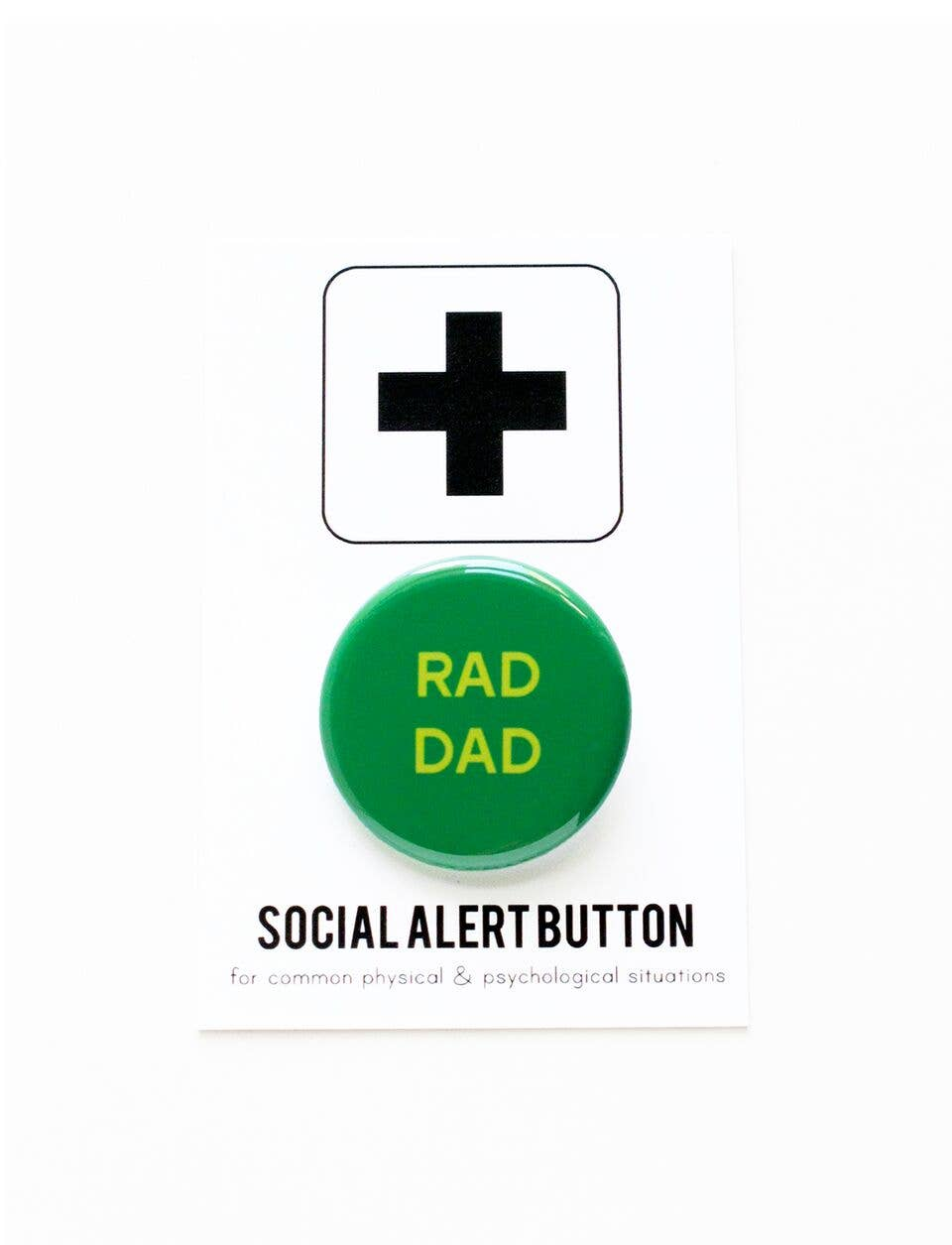 WORD FOR WORD factory - RAD DAD button