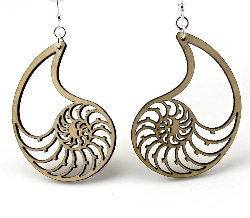 Nautilus Shell Earrings