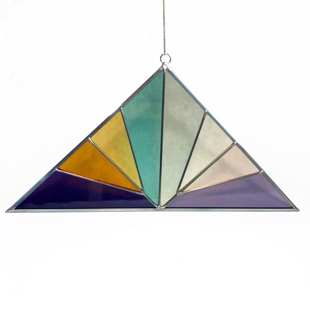 Debbie Bean - Panel - Large Triangle Summer