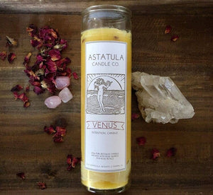 Astatula Candle Co. - Venus Intention Candle | Beeswax