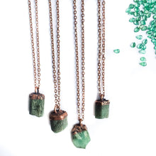Load image into Gallery viewer, Hawkhouse - Emerald Crystal Necklace