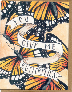 Mattea - You Give Me Butterflies Card