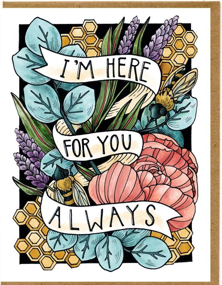 Mattea - I Am Here For You Always Card