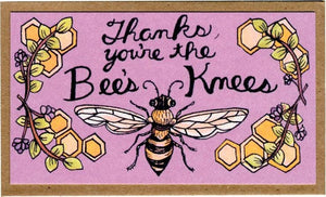 Mattea - Thanks You Are The Bees Knees Mini Card