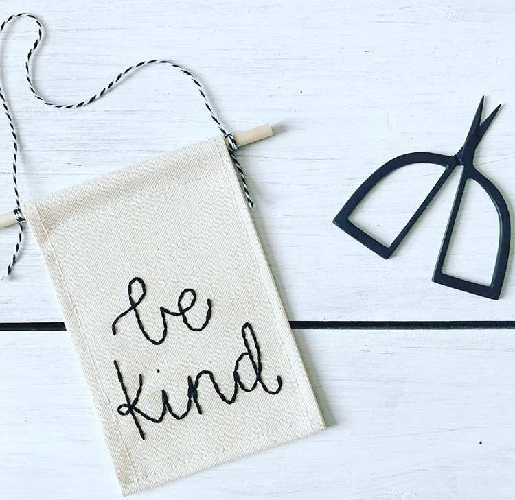 Be Kind Mini Banner
