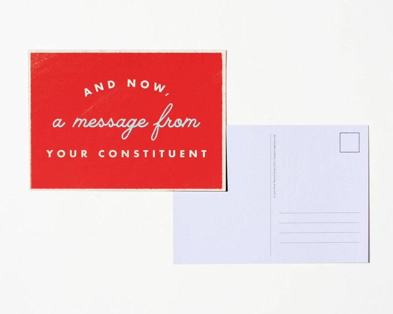 A Message From Postcard