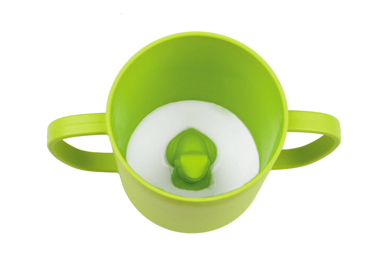 Frog Cuppies for Kids (Lime Green)
