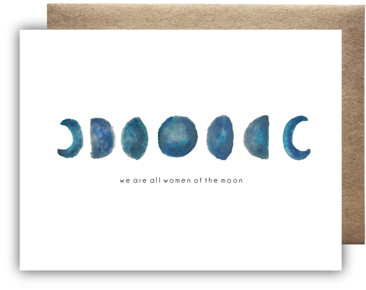 Women of the Moon Greeting Card