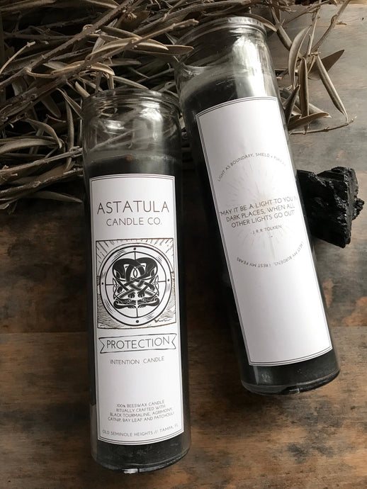 Astatula Candle Co. - Protection Intention Candle | Beeswax
