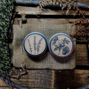 CottageWitch Botanicals - Sandalwood + Tobacco Travel Tin