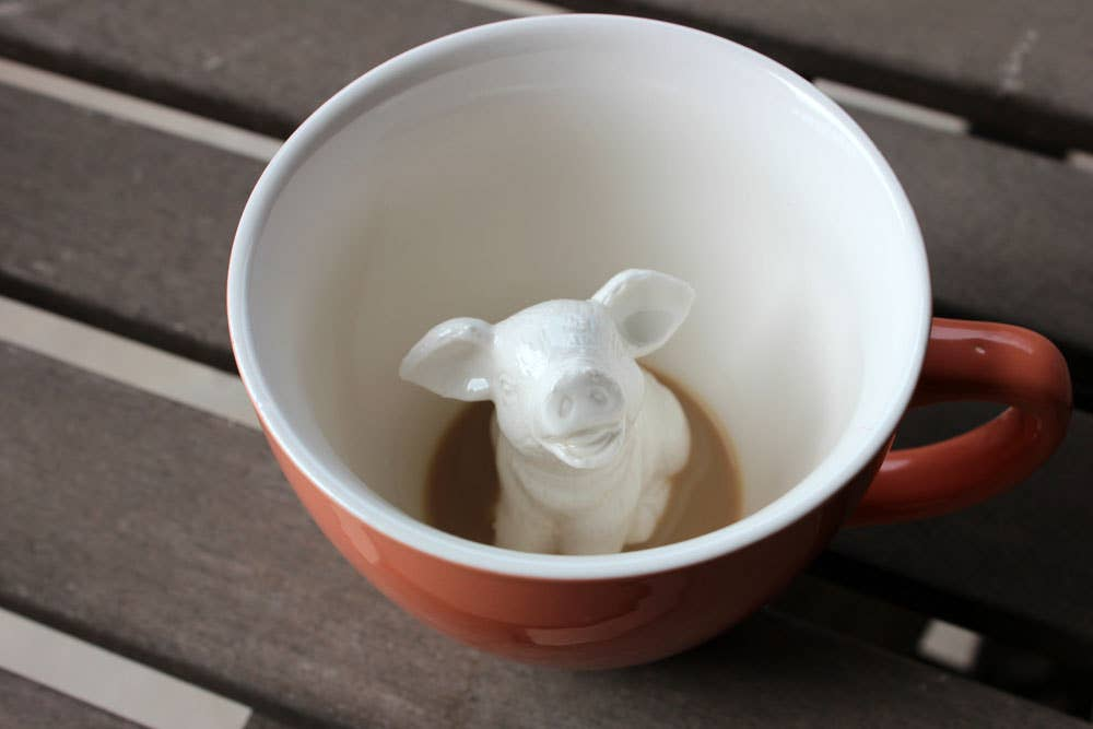 Creature Cups - Pig 11 oz.