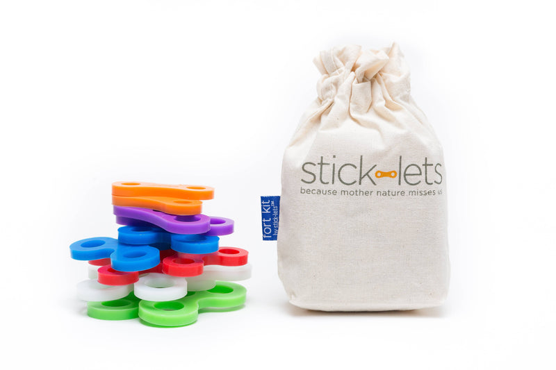 STICK-LETS® - 12-Piece Dodeka Fort Set