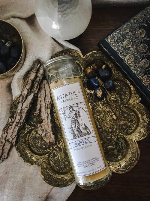Astatula Candle Co. - Jupiter Intention Candle | Beeswax