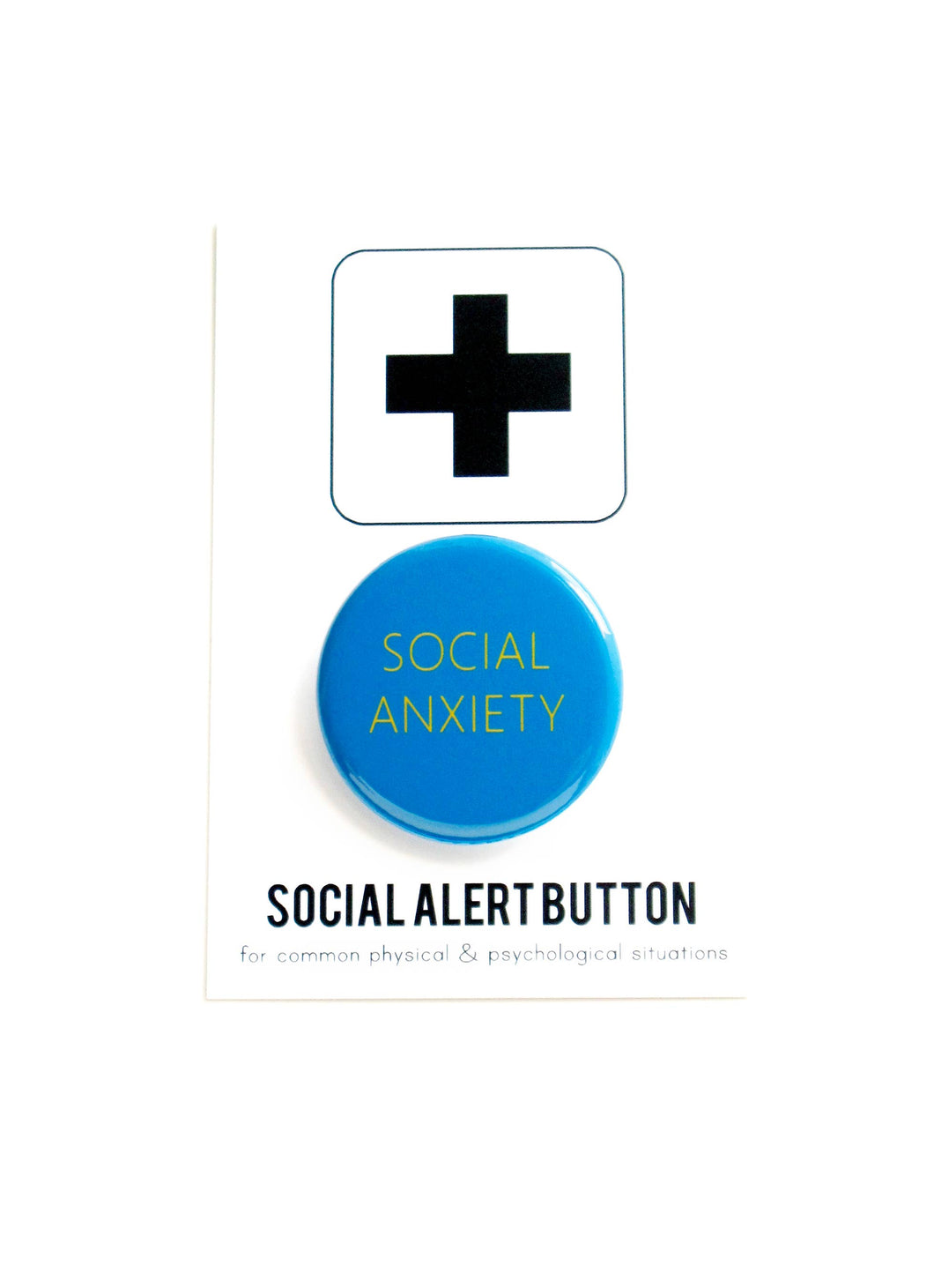 WORD FOR WORD factory - SOCIAL ANXIETY button