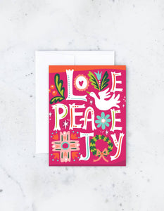 Idlewild - Love Peace Joy Card