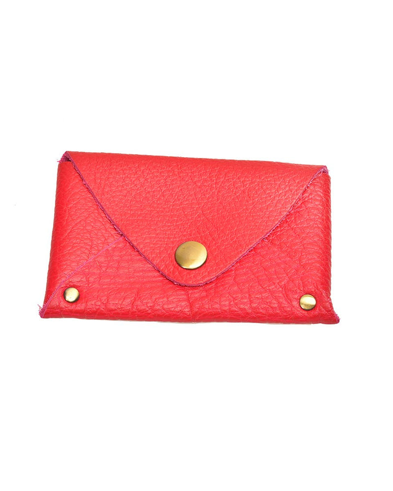 Colorful Leather Pouch | Pink