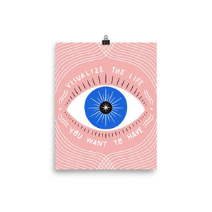 Gingiber - Visualize Your Life Print