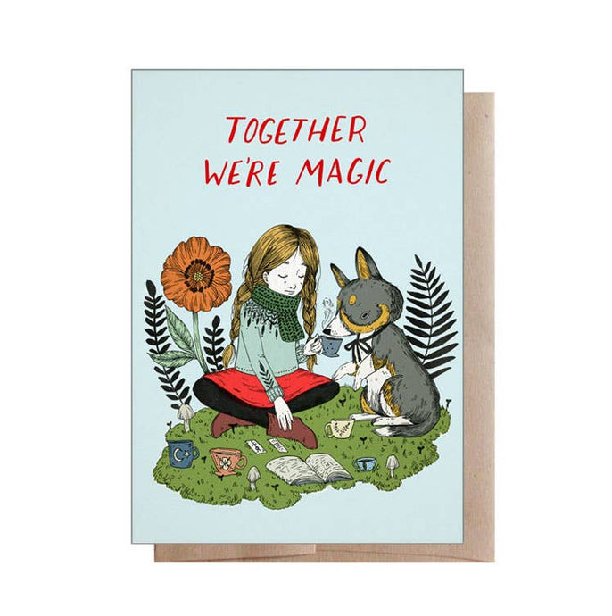Marika Paz Illustration - Together We're Magic Greeting Card