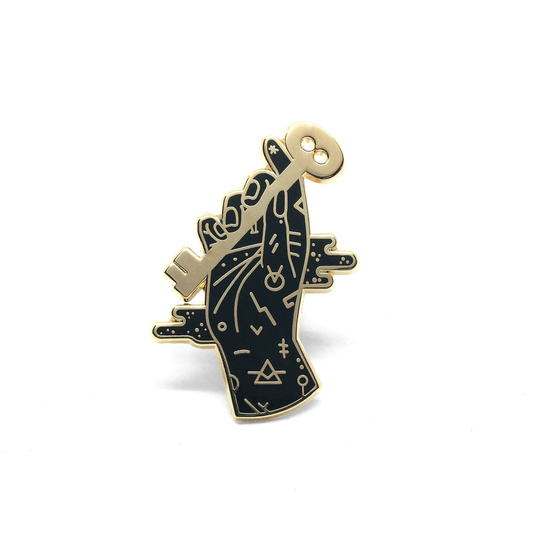 Lost Lust Supply - Curio Key Pin by Camille Chew