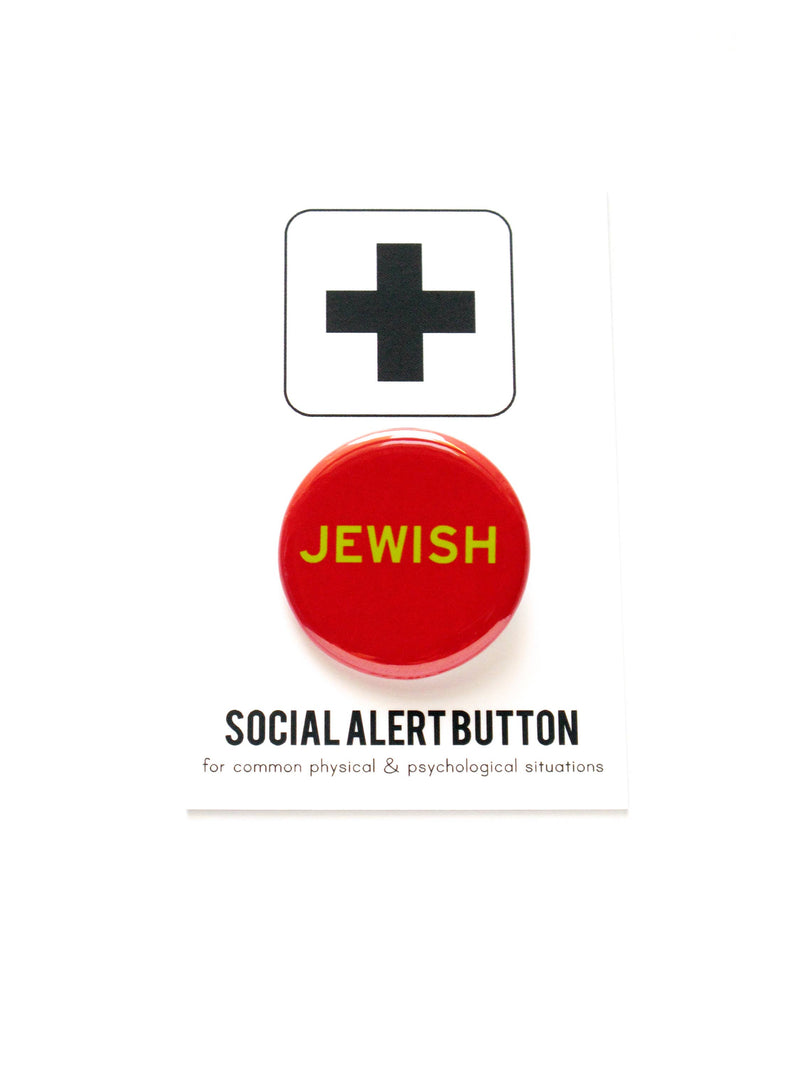 JEWISH holiday button