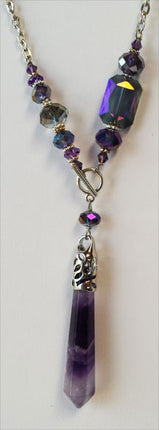Pendulum Necklace | Amy/Uriel, Amy & Assorted Glass Beads