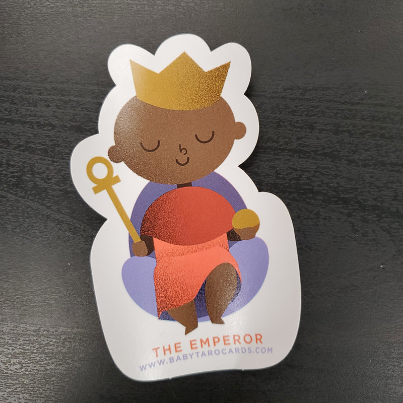 The Emperor Sticker