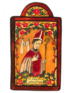 St. Valentine - Patron of Lovers, Happy Marriages, Young People and Beekeepers.