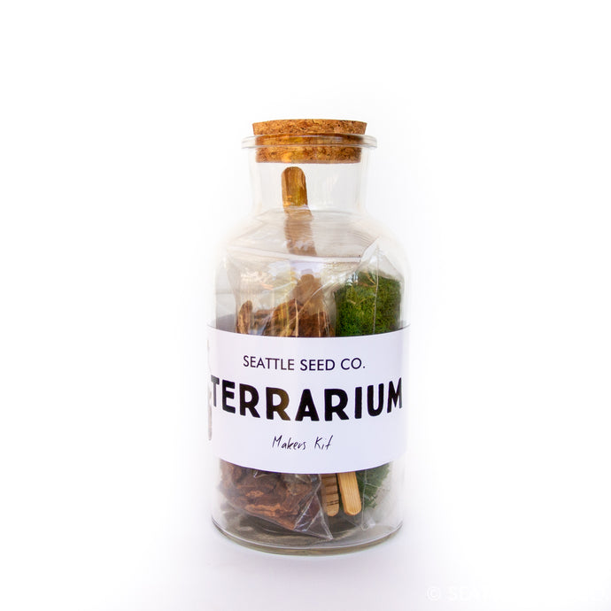 Seattle Seed Co. - DIY Terrarium Kit