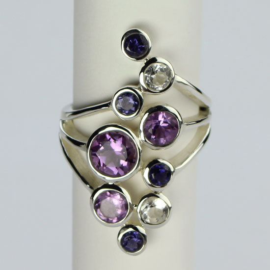 Amethyst Party Ring
