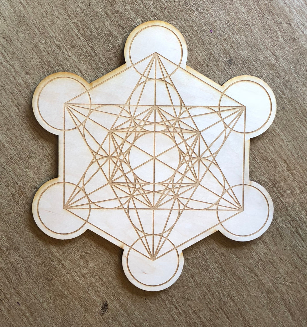 Zen and Meow - Metatron's Cube 2 Crystal Grid