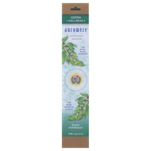 Auromere Ayurvedic Incense, Costen * Well-Being