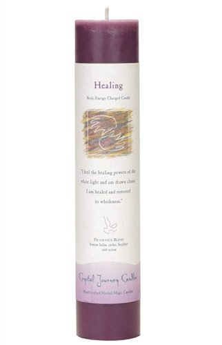 Healing, Reiki Charged Pillar Candle