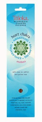 Heart Chakra Incense, 10 Count