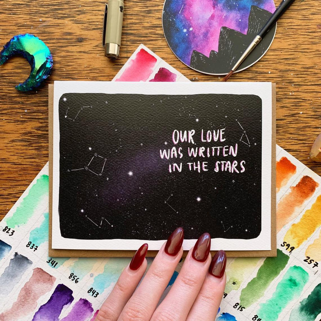 Jess Weymouth - Written In The Stars Card