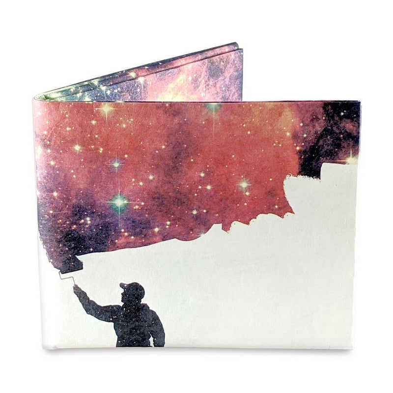 Painting the Universe Mighty Wallet