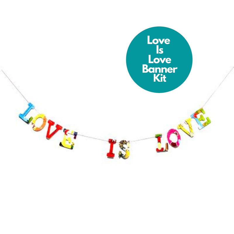 Phrase Garlands- Love Is Love