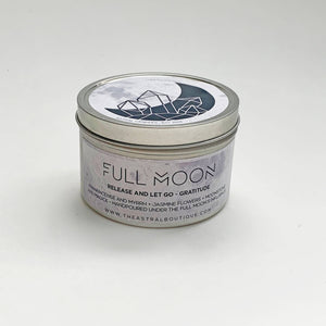The Astral Boutique - Full Moon Crystal Candle