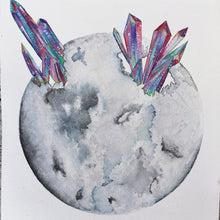 "Load image into Gallery viewer, Jess Weymouth - 11"" x 14"" Healing Us Through The Moon Print"