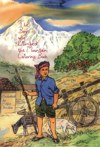 Coloring Book Companion for Fable of The Boy Who Climbed the Mountain