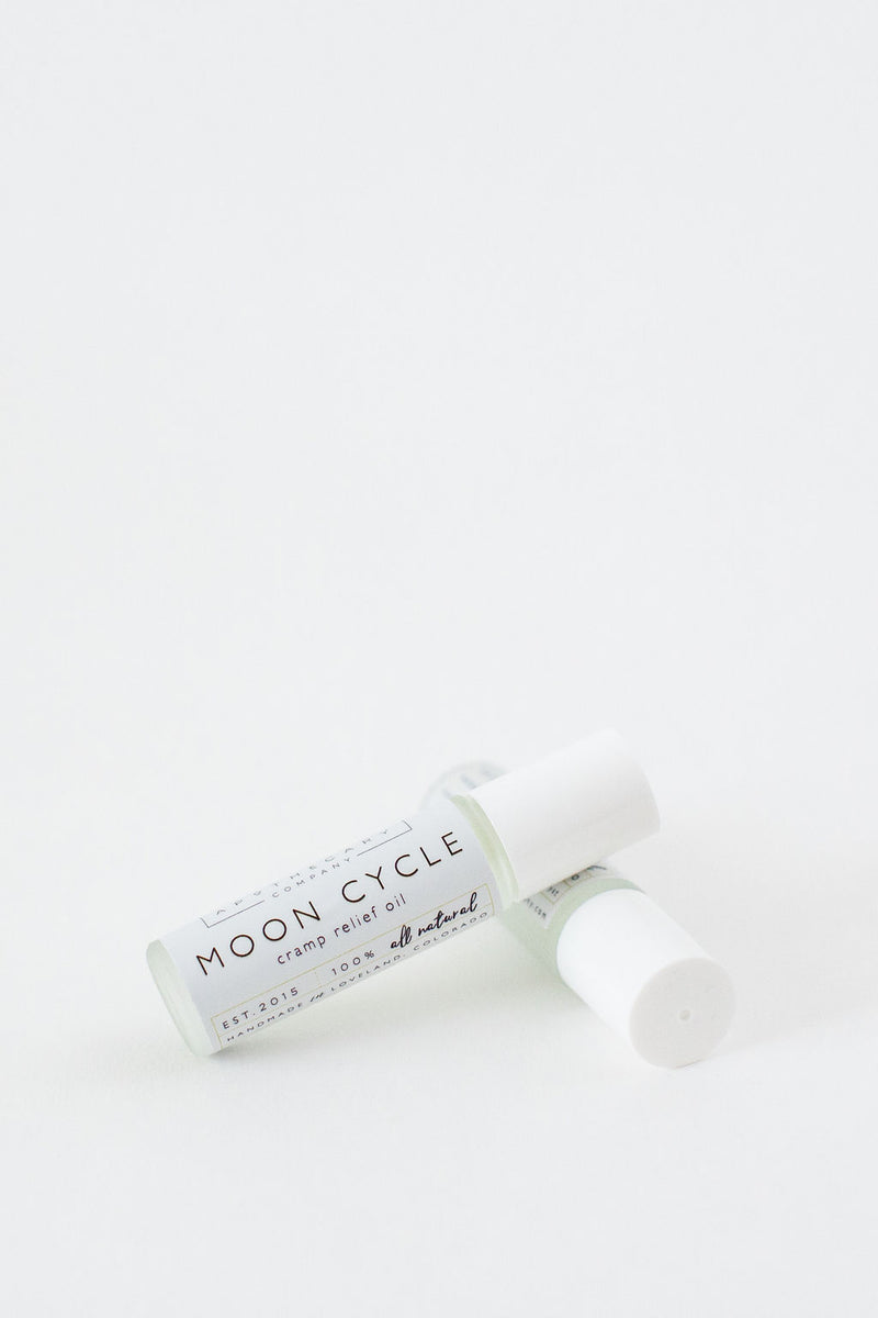 Moon Cycle Cramp Relief Oil from Apothecary Co.
