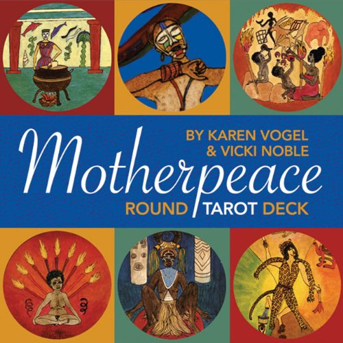 Mini-Motherpeace Tarot Deck