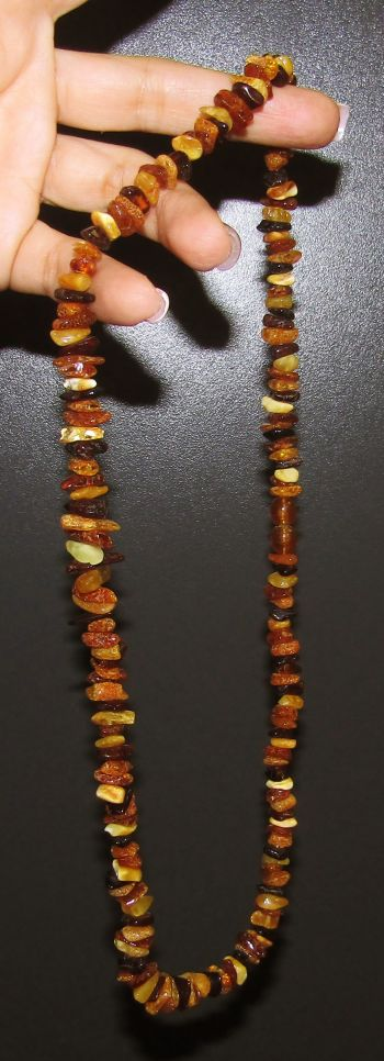 Amber Mixed Necklace